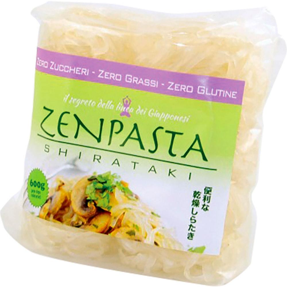 Shirataki essiccati – formato spaghetti