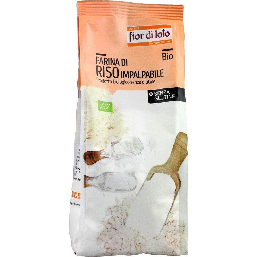 Farina di riso impalpabile