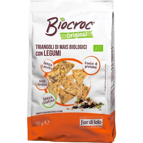 Biocroc triangoli con legumi