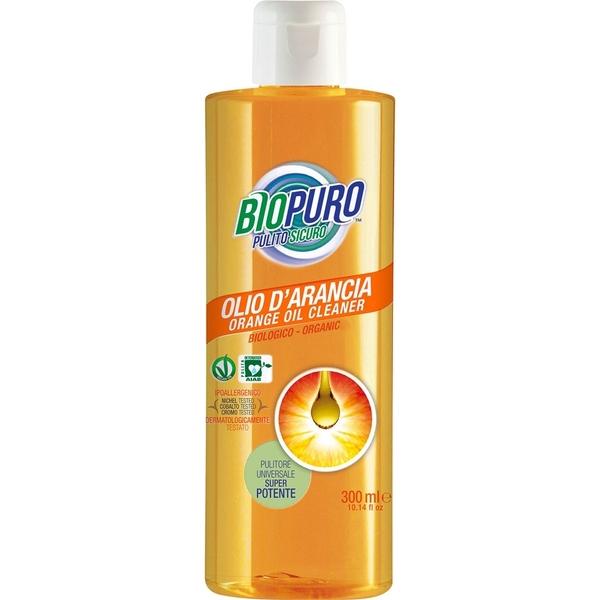 Detergente all'olio d'arancia